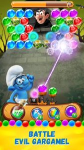 تصویر محیط Smurfs Bubble Story v2.13.070000
