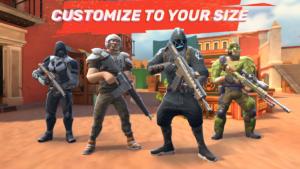 تصویر محیط Guns of Boom – Online Shooter v21.0.176