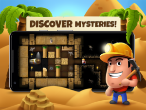 تصویر محیط Diggy's Adventure v1.5.167