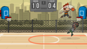 تصویر محیط Basketball Battle v2.1.13
