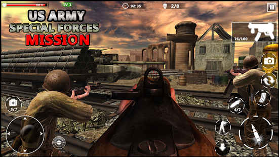 US Army Special Forces Commando World War Missions v1.1