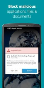 تصویر محیط Mobile Security & Antivirus v5.2.49.0