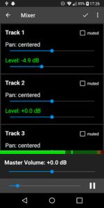 تصویر محیط Aubade Audio Studio v1.8.5