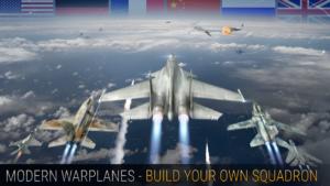 تصویر محیط Modern Warplanes v1.17.3