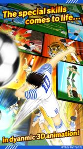 تصویر محیط Captain Tsubasa: Dream Team v2.3.1