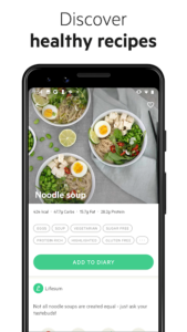 تصویر محیط Lifesum – Diet Plan, Calorie Counter & Food Diary v7.13.0