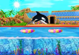 تصویر محیط My Dolphin Show v4.37.2
