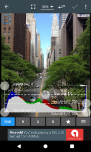 تصویر محیط Photo Editor v6.1