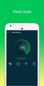تصویر محیط Power Security-Anti Virus, Phone Cleaner & Booster v2.1.5.1