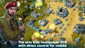 تصویر محیط Art of War 3: PvP RTS modern warfare strategy game v1.0.85