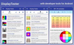 تصویر محیط Display Tester Pro v4.37