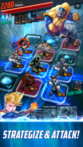 تصویر محیط MARVEL Battle Lines v2.22.0