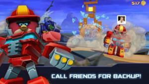 تصویر محیط Angry Birds Transformers v1.46.4 + data