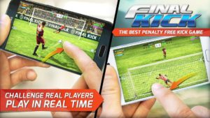 تصویر محیط Final kick 2019: Best Online football penalty game v9.0.15 + data