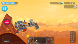 تصویر محیط RoverCraft Race Your Space Car v1.40