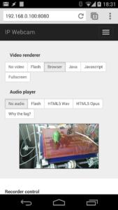 تصویر محیط IP Webcam Pro v1.14.29.734