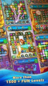 تصویر محیط Lost Jewels – Match 3 Puzzle v2.101