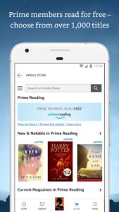 تصویر محیط Amazon Kindle v8.42.0.100