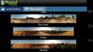 تصویر محیط Photaf Panorama (Free) v4.5.3