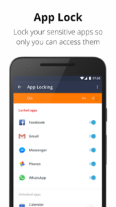 تصویر محیط Avast Antivirus – Mobile Security & Virus Cleaner v6.20.1