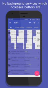 تصویر محیط IDM+: Fastest Music, Video, Torrent Downloader v13.0.5