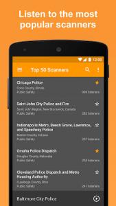 تصویر محیط Scanner Radio Pro – Fire and Police Scanner v6.13.3