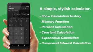 تصویر محیط Calculator – Simple & Stylish v1.9.8