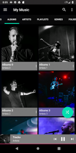 تصویر محیط ET Music Player Pro v2020.5.0