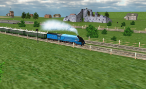 تصویر محیط Train Sim Pro v4.2.1
