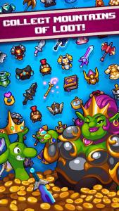 تصویر محیط Dash Quest Heroes v1.5.22