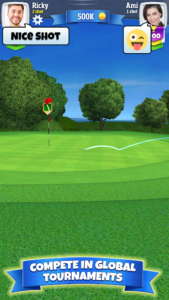 تصویر محیط Golf Clash v2.34.4