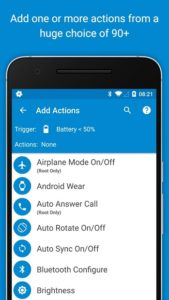 تصویر محیط MacroDroid – Device Automation pro v4.9.3.3