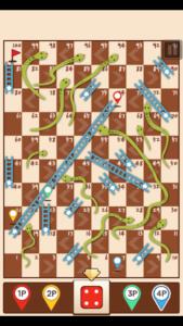 تصویر محیط Snakes & Ladders King v20.04.02