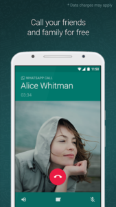تصویر محیط WhatsApp Messenger v2.20.207.8