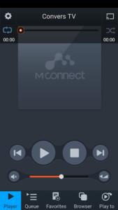 تصویر محیط mconnect player v3.2.22