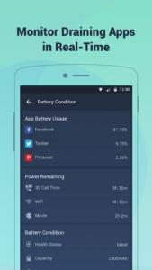 تصویر محیط Battery Doctor-Battery Life Saver & Battery Cooler v6.29 b6290003