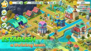 تصویر محیط Town City – Village Building Sim Paradise Game 4 U v2.3.1