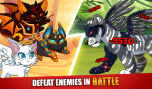 تصویر محیط Castle Cats Epic Story Quests v2.16.2