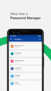 تصویر محیط Enpass Password Manager Pro v6.0.8.209