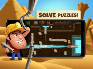 تصویر محیط Diggy's Adventure v1.5.455
