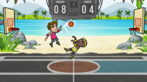 تصویر محیط Basketball Battle v2.2.3