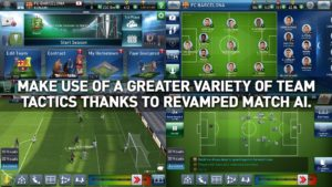 تصویر محیط PES Club Manager v3.0.1 + data