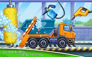 Truck games for kids – house building 🏡 car wash v0.4.0