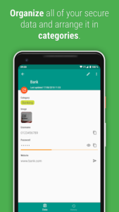 تصویر محیط Password Safe and Manager v6.2.1