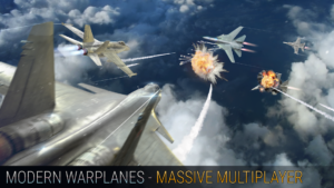 تصویر محیط Modern Warplanes v1.16.1