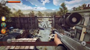 تصویر محیط Last Hope Sniper – Zombie War v2.13