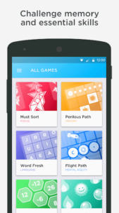تصویر محیط Peak – Brain Games & Training v4.5.1