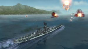 تصویر محیط WARSHIP BATTLE 3D World War II v3.2.9