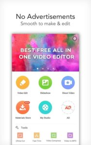 تصویر محیط VideoShow Pro -Video Editor,music,cut,no watermark v8.7.9rc