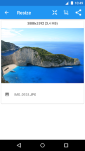 تصویر محیط Photo & Picture Resizer Premium v1.0.234